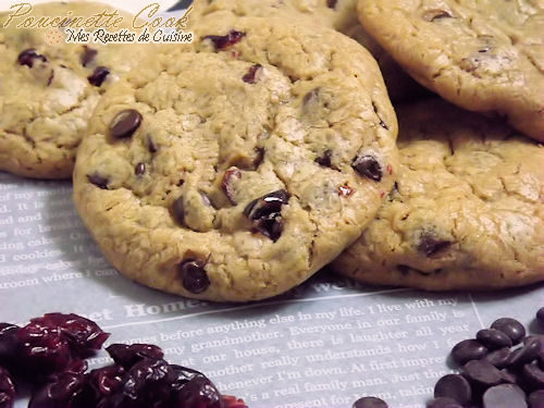 cookies-chocolat-cranberries