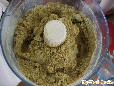 pâte de pistache maison